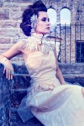 The Castle - Beverly Bracelet, Ivory Robin Corset Choker & Cameo Skull Ring