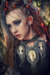 Crystal Dothraki Collection - Crystal Daenerys Necklace
