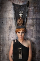 Gaussian Winter - Fallen Crown and Scorpion Queen Necklace
