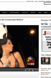 41 Action News - West 18th Street Fashion Show - Evil Pawn Jewelry - White Wings and Cameo Skull Amulet