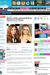 People Magazine - Demi Lovato - Evil Pawn Jewelry - Caroline Necklace