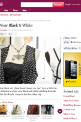 eHow Style - Fun Ways to Wear Black and White - Evil Pawn Jewelry - Cherub Necklace