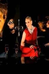 Lady Gaga - Burned Up The Night Music Video - Evil Pawn Jewelry - Moulin Rouge Necklace - 1