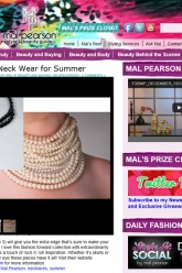 Mal Pearson - Evil Pawn Jewelry - Beverly Necklace and Caroline Necklace