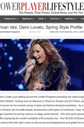 Power Player Lifestyle - Demi Lovato - Evil Pawn Jewelry