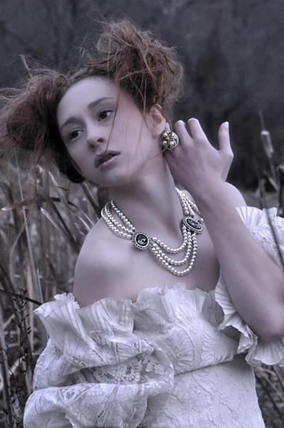 Evil Pawn Jewelry Pearls Of Winter