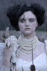 Pearls Of Winter - Beverly Necklace & Pearl Nicodemus Ring