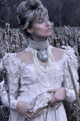 Pearls Of Winter - Cersei Necklace & Pearl Dregon Ring