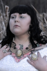 Pearls Of Winter - Nicodemus Pearl Collar Necklace, Ophelia Ring & Pearl Nicodemus Ring