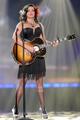 Angaleena Presley - American Country Awards 2011 - Evil Pawn Jewelry - Fancy Nicodemus Necklace 3