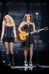 Angaleena Presley - American Country Awards 2011 - Evil Pawn Jewelry - Fancy Nicodemus Necklace 1