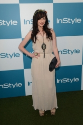 Ashley Rickards - 11th Annual InStyle Summer Soiree - Evil Pawn Jewelry - Nicodemus Ring and Viserys Necklace