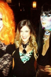 Chanel Perrillo - Logos Hot 100 Party - Evil Pawn Jewelry - Caroline Necklace
