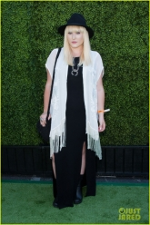 Hayley Hasselhoff - Just Jared Summer Kick Off Party June 2013 - Evil Pawn Jewelry - Squash Blossom Necklace