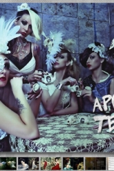 Cliche Magazine - Evil Pawn Jewelry - Apocalyptic Tea Party - 1