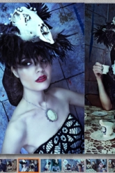 Cliche Magazine - Evil Pawn Jewelry - Apocalyptic Tea Party - 4