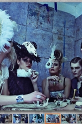 Cliche Magazine - Evil Pawn Jewelry - Apocalyptic Tea Party - 6