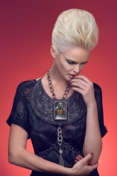Fashion Stylist Kristen M. Stuart - Evil Pawn Jewelry - Hapi Bib