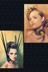 Fiori Magazine Nov/Dec 2010 Issue - Evil Pawn Jewelry - Sharon Collar and Buffalo Woman Choker