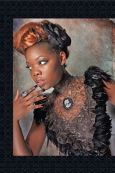 Fiori Magazine Nov/Dec 2010 Issue - Evil Pawn Jewelry - Vivica Bib