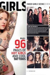 Inked Girls Magazine Sept 2011 - Evil Pawn Jewelry - Faith Evangeline