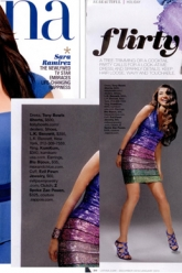 Latina Magazine Jan 2013 - Evil Pawn Jewelry - Hematite Crimp Cuff