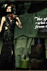 Prestige Magazine June 2012 - Evil Pawn Jewelry - November Corset Choker