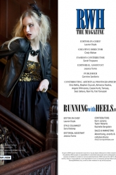 Running With Heels Magazine Fall 2012 - Evil Pawn Jewelry - Emily Necklace - 1