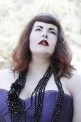 Skorch Magazine - Tess Munster - Evil Pawn Jewelry - Demonia Necklace