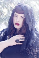Skorch Magazine - Tess Munster - Evil Pawn Jewelry - Hope Ring