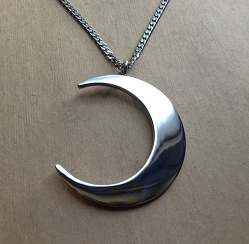 Moon priestess necklace evil pawn jewelry for Do pawn shops buy stainless steel jewelry