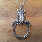 Spiderwick Necklace in Quartz