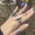 Earth Ring in Quartz & Smoky Quartz