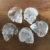 Quartz Crystal Skull Pocket Stone