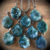 Veda Necklace In Moss Agate