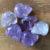 Amethyst Crystal Skull Pocket Stone