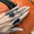 Beldam Ring in Onyx