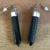 Seshat Earrings in Onyx